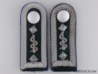 Army Medical Sanitäts-Oberfeldwebel Shoulder Boards