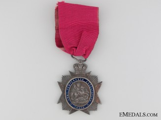 Army Temperance Association India Medal