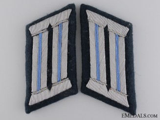 Army Transport Staff Collar Tabs