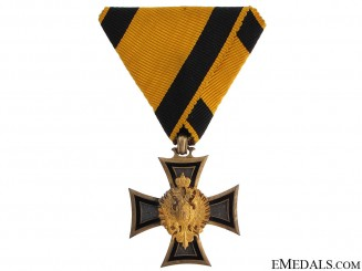 Austrian Long Service Cross with Dedication