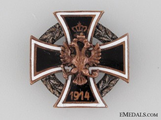 Austrian WWI Iron Cross Pin, 1914