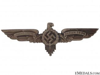 Aviators Meeting Badge - Berlin 1934