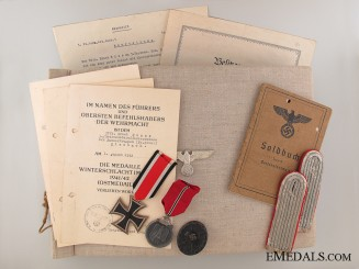 Awards & Documents to the 3./panzerGren.- Ers.Btl 1