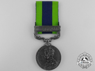 An India General Service Medal 1908-1935 to the Somerset Light Infantry