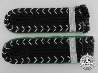 A Set of SS-Sicherheitsdienst Rottenfuhrer Shoulder Boards