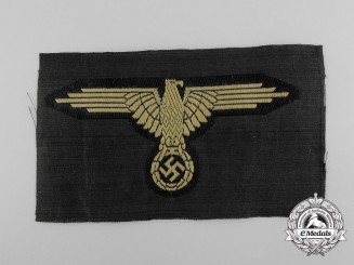 A Mint Waffen-SS Tropical Sleeve Eagle
