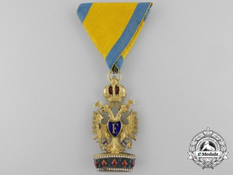 An Austrian Imperial Order of the Iron Crown; Third Class by A.E. Kochert