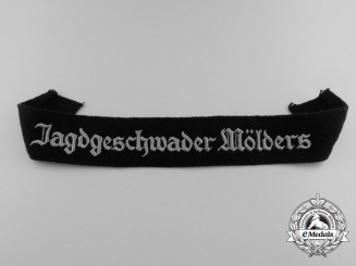 A Scarce Jagdgeschwader Mölders Cufftitle; Other Ranks