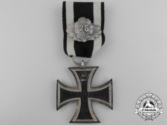An Iron Cross Second Class 1870 by Godet with Jubilee Spange