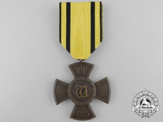 A Wurttemberg Wilhelm's Cross for Merit in Public Welfare 1915-1918