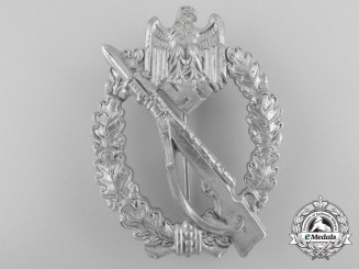 A Silver Grade Infantry Badge by Sohni, Heubach & Company