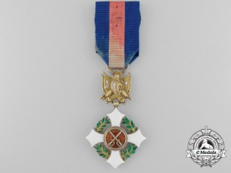 Italy. An  Military Order of Savoy; c.1870 Officer in Gold