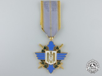 Romania, Kingdom. An Order of Aeronautical Virtues (Merit), Officer