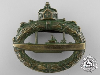 An Early War Period German Submarine Badge by Walter Schott