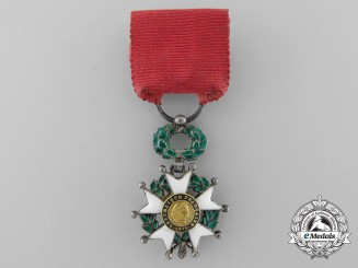A Fine Miniature French Legion D' Honneur