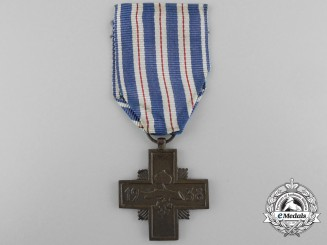 A 1938 Czechoslovakian Cross for Faithful Service