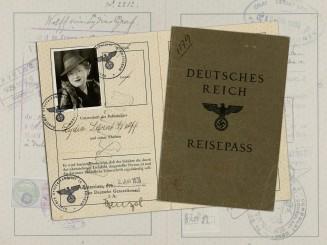 A Third Reich German-Jewish Passport Belonging to Lydia Sara Wolff