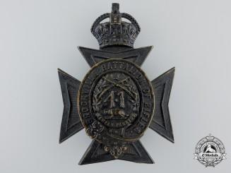 A Victorian 41st Brockville Battalion of Rifles Helmet Plate, c. 1882