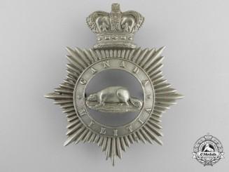 A Victorian Canadian Militia Cap Badge