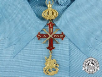 A Italian State of Parma Constantinian Order of St. George; Senators of the Grand Cross