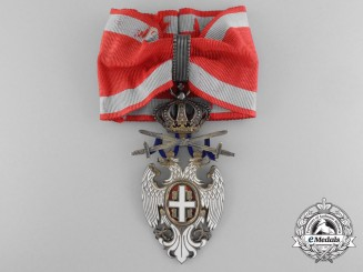Serbia, Kingdom. An Order of the White Eagle, III Class Commander with Swords, c.1914