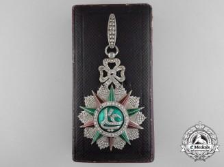 Tunisia. A Fine Order of Nichan Iftikhar, Commander, by Halley, Paris