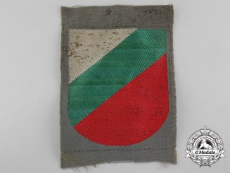 A German Army Foreign Army Volunteer (Bulgarian) Arm Shield