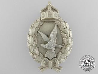 A First War Prussian Air Gunner's Badge by Juncker; First Type