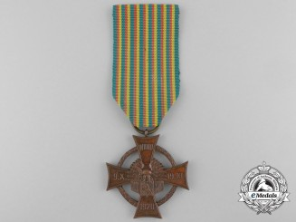 Lithuania. An Army of Central Lithuania Cross of Merit 1922