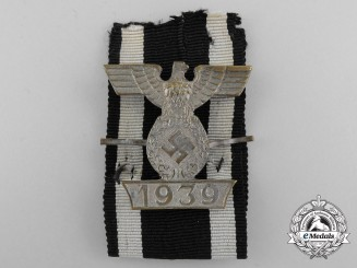 Germany, Wehrmacht. A Clasp to the Iron Cross, II Class, Type I, by Boerger & Co,