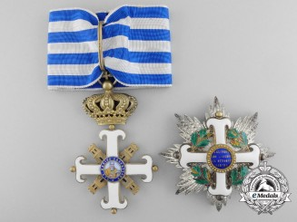 An Order of San Marino, Grand Officer Set by Raviolo & Gardino