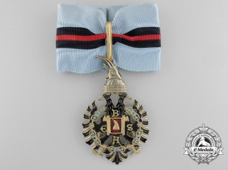 An Albanian Order of Fidelity; Commander's Cross (1940-1944) by E.Gardino, Rome