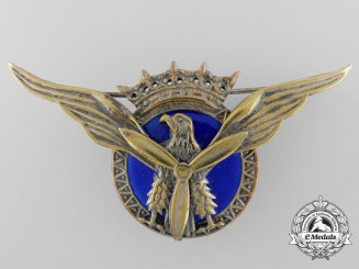A Spanish Franco Era Military Transport Pilot Wings Badge