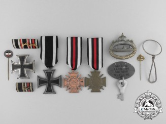 A First War Award Grouping to a German Submariner