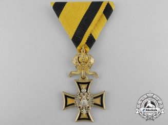 Austria, Empire. A Long Service Cross for 50 Years Service, I Class