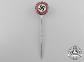 An NSDAP Members Badges; Small Early Version