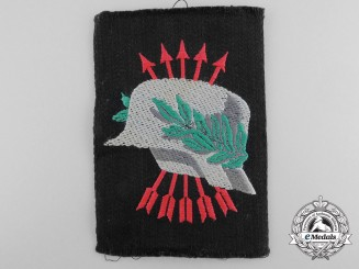 A Spanish Civil War Nationalist/Falange Cloth Arm Insignia