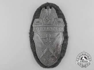 An Army Issue Demjansk Shield