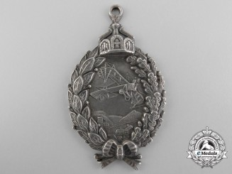 A First War Prussian Pilot's Badge; Prinzen size in 800 Silver