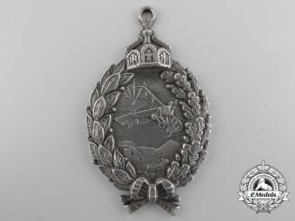 A First War Prussian Pilot's Badge; Prinzen size in 800 Silver
