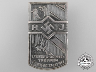 A 1933 HJ Nurnberg Day Badge