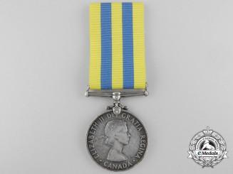 A Canada Korea Medal to W.A. Poaps