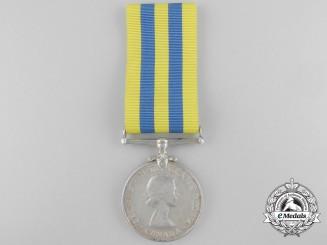 A Canada Korea Medal to J.P.R.J.M. Menard
