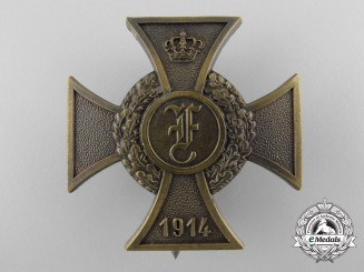 An Anhalt First War Friedrich Cross 1914-1918