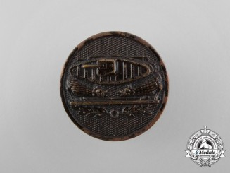 A First War United States Tank Corps Collar Disk