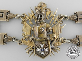 Vatican. A Combined Order of St. Sylvester and Golden Spur, Collar, c.1880