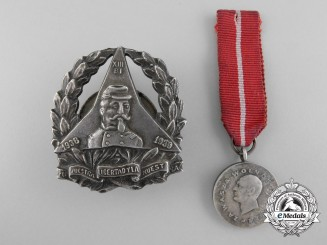 Two Rare Polish Spanish Civil War Decorations 1936-1939