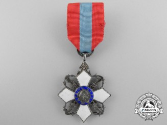 A Miniature Brazilian Order of Naval Merit; Knight