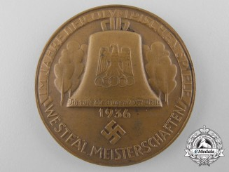 A 1936 Berlin Olympic Games German High Jump Medal
