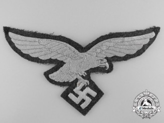 A Large Luftwaffe Breast Eagle for Officers Overcoat